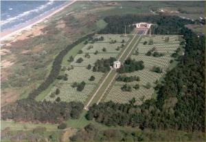 Aerial View Of Omaha Cemetery